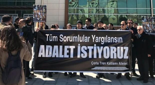 Çorlu Tren Katliamı Aileleri'nin bu haftaki nöbeti İstanbul'da