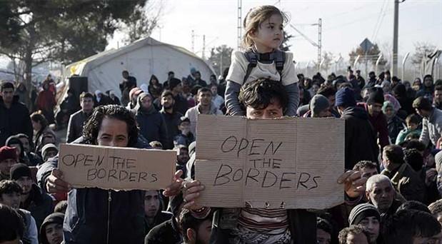 Mültecilere ırkçı 'on emir'