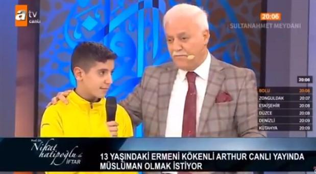 Nihat Hatipoğlu'nun 'din değiştirme' şovuna sert tepki