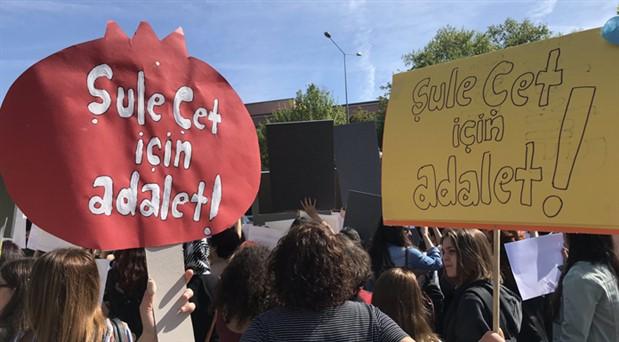 Şule Çet davası 10 Temmuz'a ertelendi: Şule için adalet demeye devam!