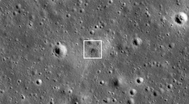 NASA, İsrail'in Ay'a çakılan uzay aracını görüntüledi