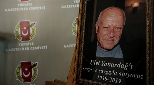 Usta gazeteci Ulvi Yanardağ son yolculuğuna uğurlandı