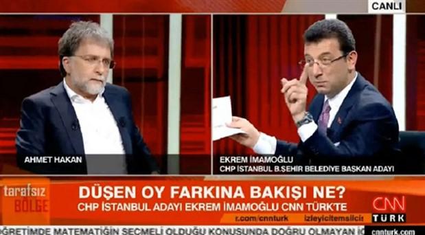 İmamoğlu İBB'deki israfı anlatırken 'Tarafsız Bölge'yi apar topar kesen CNN Türk'ten açıklama
