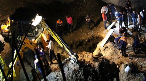 9 yaşındaki çocuğun inşaat çukuruna düşerek ölümüyle ilgili 1 gözaltı
