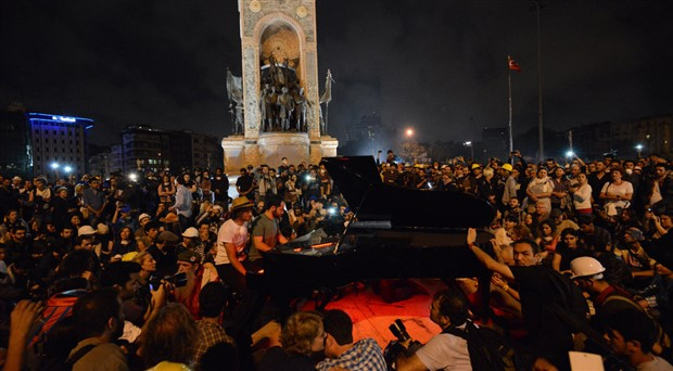 Gezi'nin 6. yılı şarkılarla kutlanacak