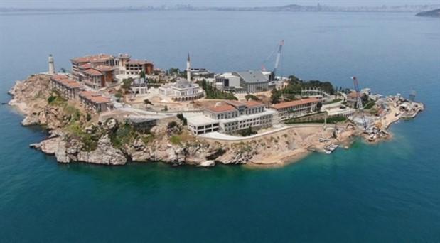 AKP'nin 'Demokrasi ve Özgürlükler Adası' olacak dediği Yassıada beton adası oldu