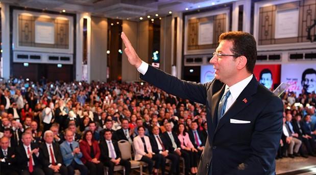 İmamoğlu, Kampanya Tanıtım Toplantısı'nı gerçekleştirdi: İBB bir avuç insanın malı mülkü değil