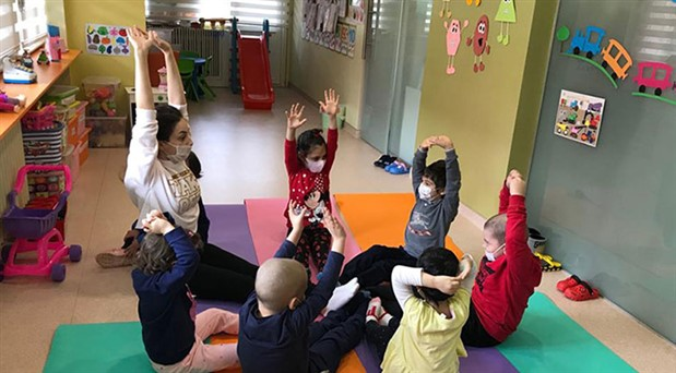 Kanserli çocuklar rahatlıkla oynayabilecek