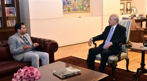Kılıçdaroğlu, Rabia Naz'ın babası ile görüştü