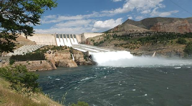 DSİ'den uyarı: Keban'da su seviyesi yükseldi, taşkın olabilir