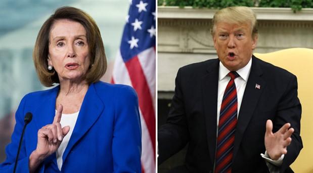 Trump ile Pelosi arasında 'akıl sağlığı' atışması