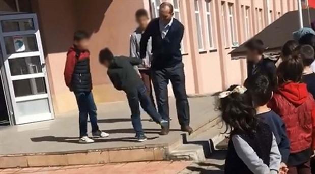 Öğrencileri darp eden okul müdürü görevden alındı