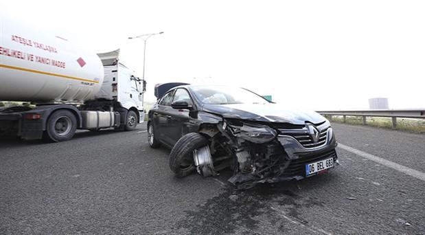 TÜİK Başkanı Yinal Yağan, trafik kazası geçirdi
