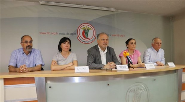 SES ve TTB'den ortak açıklama: Açlık grevlerinin sonlandırılması özenli tıbbi yaklaşım gerektirmektedir
