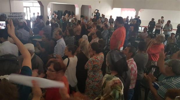 Turgut köylüleri ÇED toplantısını yaptırmadı