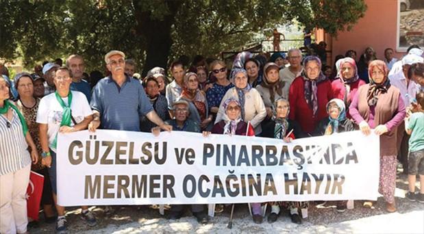 Zeytin yasasını ihlal eden mermer ocağı Meclis'te