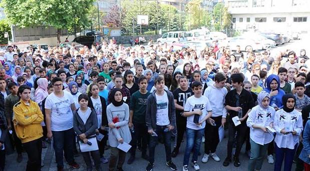1 milyonu aşkın öğrenci ter döktü