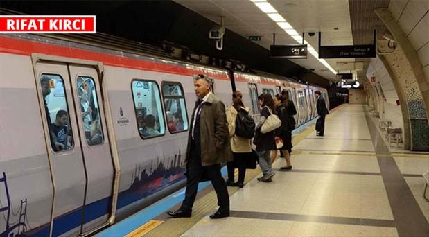 Metro çalışanları gün yüzü görmüyor