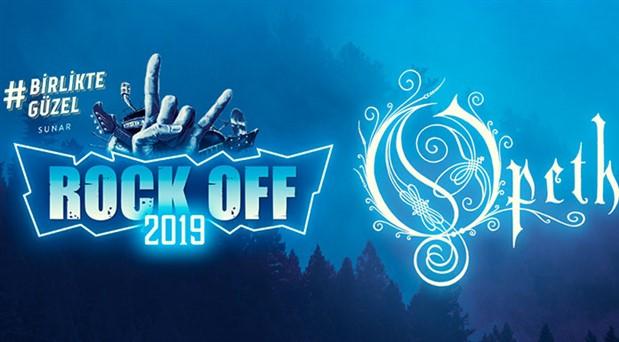 Rock Off  2019, Opeth ile geri dönüyor