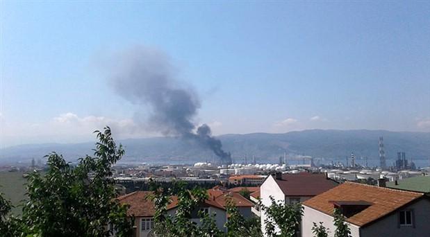 TÜPRAŞ'tan 'duman' açıklaması