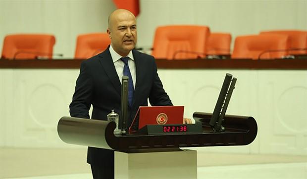 Murat Bakan'dan AKP'ye 'Pontus' tepkisi: Önce adalarımızın hesabını verin
