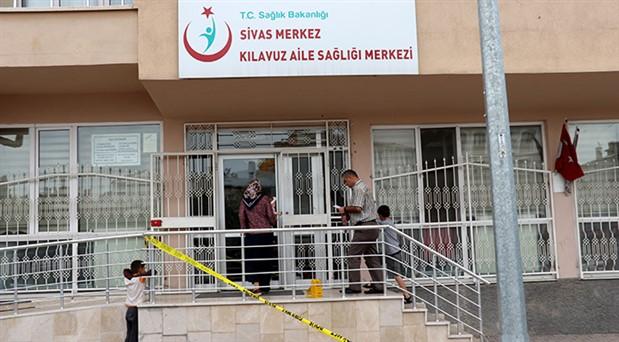 Sivas'ta aile sağlığı merkezine 36 kurşun sıkıldı
