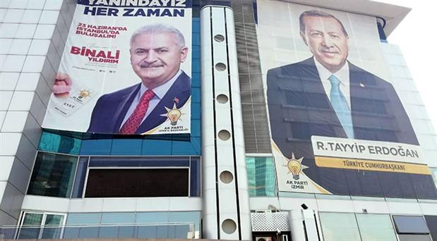 """AKP'de """"81 ile Binali Yıldırım afişi asılsın"""" talimatı"""