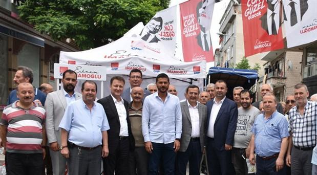 İzmirli başkanlar İmamoğlu'na destek için İstanbul'da