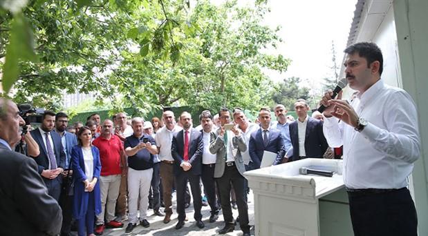 Çevre ve Şehircilik Bakanı İstanbul'a kamp kurdu: Bol keseden kentsel dönüşüm vaatleri