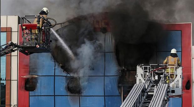 İSTOÇ'taki yangın kontrol altına alındı