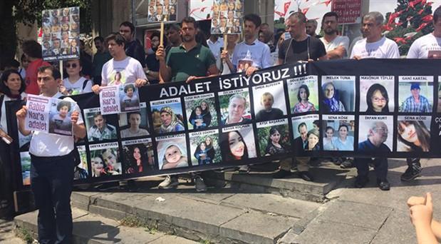 Adalet arayan aileler Bakırköy'de buluştu