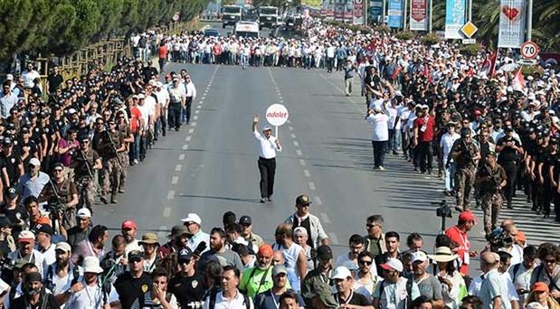 Adalet Yürüyüşü ikinci yılında devam ediyor: İstanbul'u bir kez daha kazanacağız