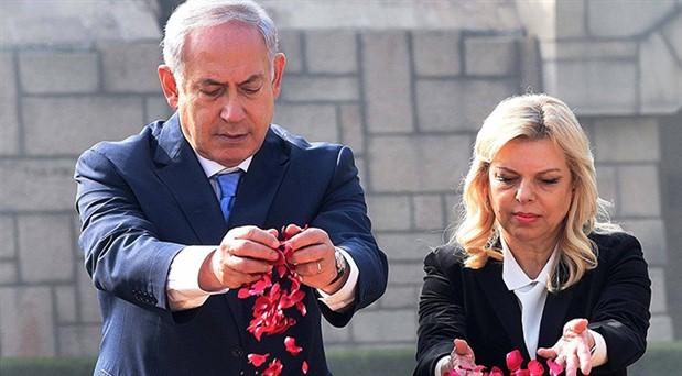 Netanyahu'nun eşine devletin fonlarını kötüye kullanmaktan para cezası