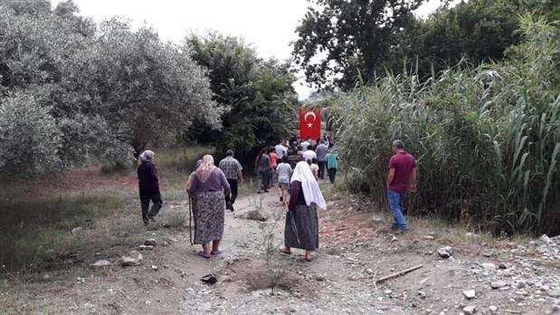 Aydın'da jeotermale geçit yok: Köy halkı jeotermal alanını mühürledi