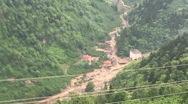Trabzon Araklı'da HES borusu patladı: 2 ölü, 8 kayıp, 4 yaralı