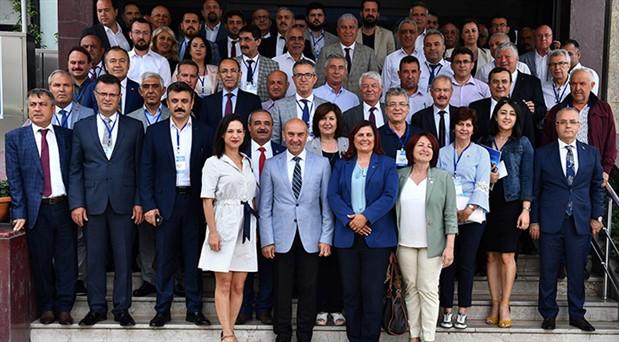 Tunç Soyer, 'Ege'nin başkanı seçildi