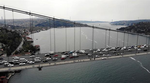 Fatih Sultan Mehmet Köprüsü'nde dört şerit 51 gün kapalı