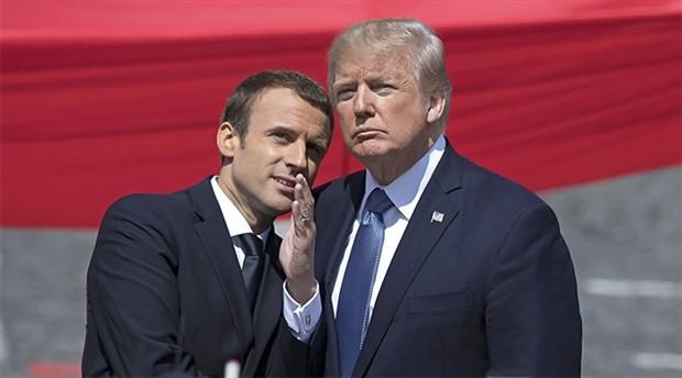 """Macron'dan Trump'a """"duruşunu netleştir"""" çağrısı"""