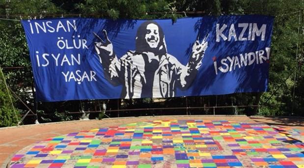 Abbasağa Parkı'nı gökkuşağı renklerine boyayanlara faşist saldırı