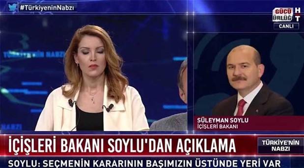 Nagehan Alçı ve Süleyman Soylu arasında canlı yayında üslup tartışması