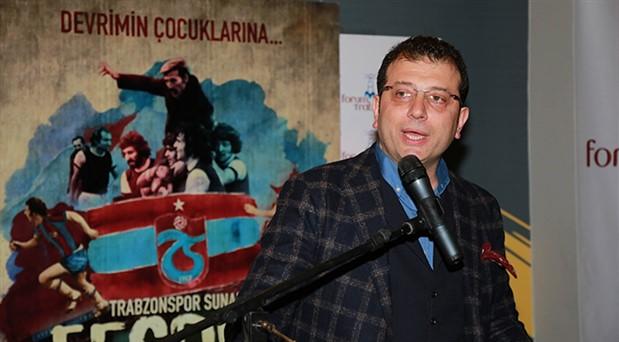 Trabzonspor'dan Ekrem İmamoğlu'na tebrik