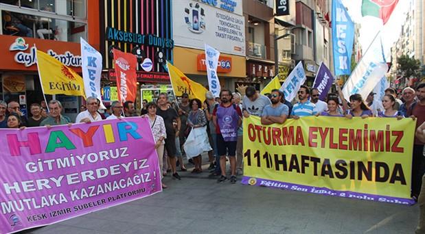 KESK İzmir: KHK'ler gidecek, biz geri döneceğiz