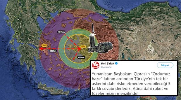 Yandaş medya: Türkiye Atina'yı vurabilir