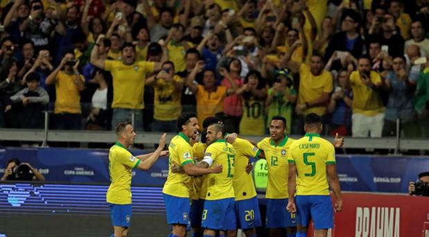 Kupa Amerika'da Brezilya-Peru finali