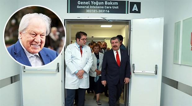 Sağlık Bakanı Koca'dan Pakdil'e ziyaret