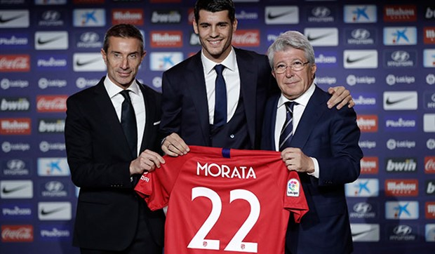 Morata, Atletico Madrid'de