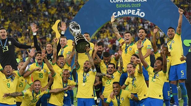 Copa America'da samba: Şampiyon Brezilya