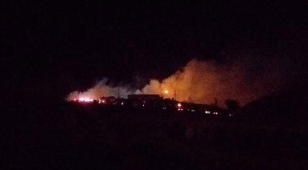 İSİG: Harmandalı'ndaki yangın uyarı fişeğiydi, acil önlem alınmalı