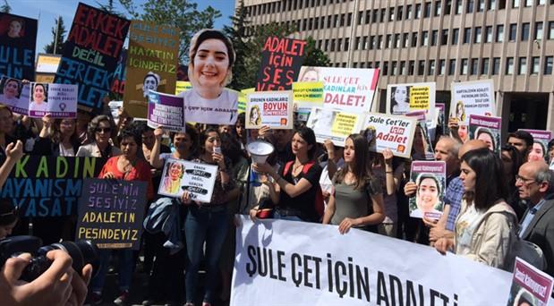 Şule Çet davası için İzmir'den destek