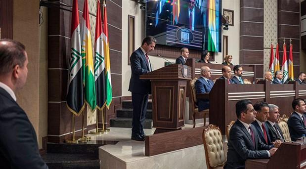 IKBY'deki yeni hükümet 10 ay sonra kuruldu: Oğul Barzani Başbakan seçildi
